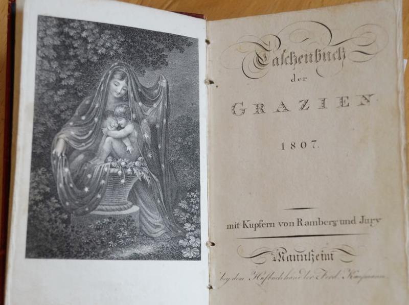 Taschenbuch der Grazien 1807 Titelkupfer