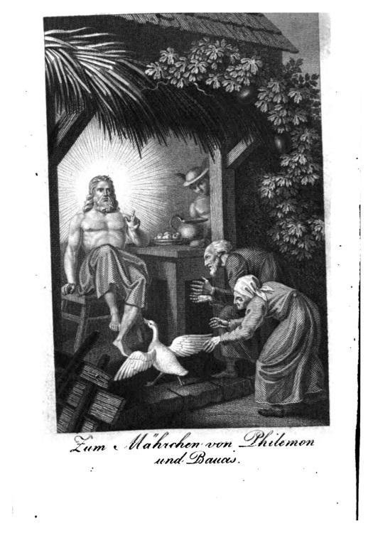 """""""Zu dem Mährchen von Philemon und Baucis."""""""