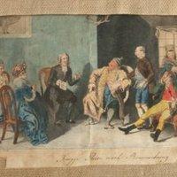 Knigge, Adolph von: Die Reise nach Braunschweig. Ein comischer Roman (1794). Neue Auflage. Mit 1 gefalt. Kupfertafel von E. Riepenhausen nach H. Ramberg.