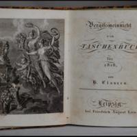 Vergissmeinnicht. Ein Taschenbuch für [1818, 1819, 1822] Hrsg. H. Clauren.