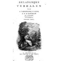 Belangrijke verhalen van A. Lafontaine, F. Kind, A.F.E. Langbein en anderen. Uit het Hoogduitsch. 2 Bde.