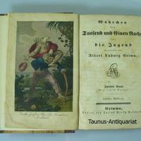 Grimm, Albert Ludwig: Märchen=Bibliothek für Kinder. Aus den Märchen aller Zeiten und Völker ausgewählt und erzählt. 7 Bde.