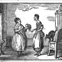 [Becker, Rudolph Zacharias:] Noth- und Hülfsbüchlein oder lehrreiche Freuden- und Trauer-Geschichte der Einwohner von Mildheim. 2 Bde. Neue verbesserte Ausgabe (Erstausgabe 1788).