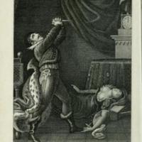 Müllner, Adolph: Die Schuld. Ein Trauerspiel in vier Acten. Zuerst aufgeführt in Wien auf dem Theater nächst der Burg am 27. April 1813.